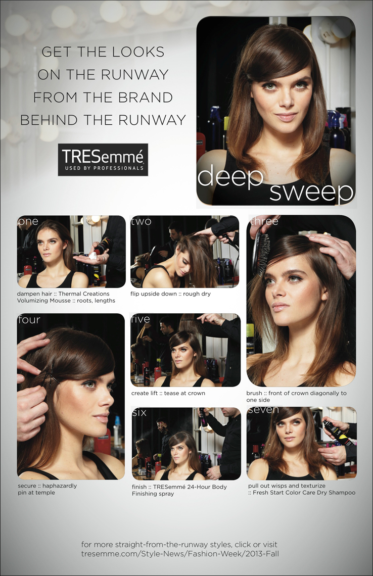Franklin Thompson for TRESemme